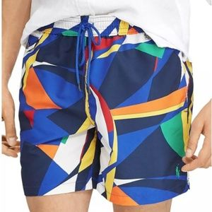 Polo Ralph Lauren Colorblock Explorer Swim Shorts